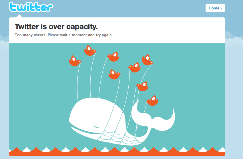 Twitter Scalability Issues Attract Competitors